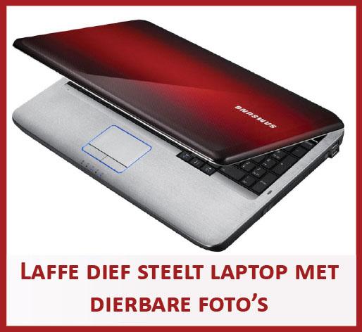 Laffe dief steelt laptop met dierbare foto's uit woning in Enschede